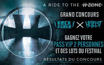 Résultat Jeu Concours Hellfest 2015