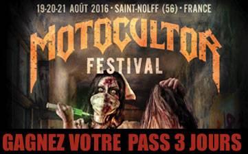 Résultats Jeu Concours Motocultor Festival 2016