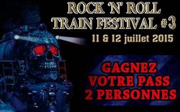 Résultats Jeu Concours Rock N Roll Train Festival