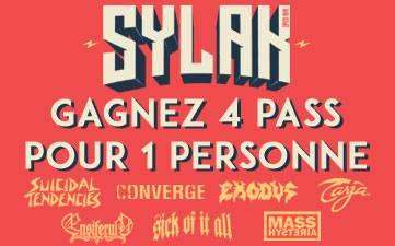 Résultat Jeu Concours Sylak 2016