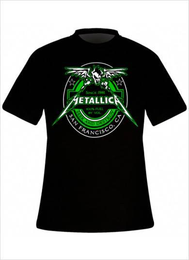 Chemises de groupe hardcore