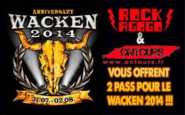 Résultats Jeu Concours Wacken 2014