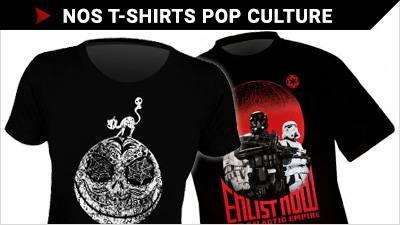 Notre magasin de T-Shirts POP CULTURE
