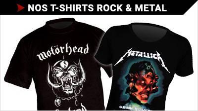 Notre magasin de T-shirts Rock&Metal