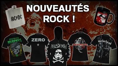 Magasin Rock, Metal, Punk, Gothique... Depuis 1993 - Rock A Gogo f6d8c1839ce