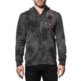 Sweat Zippé Homme AFFLICTION - Bad Luck Motor