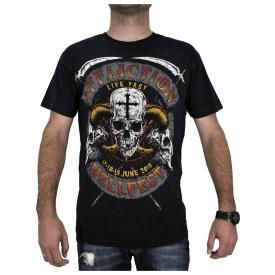 T-Shirt Homme AFFLICTION - Hellfest 2016