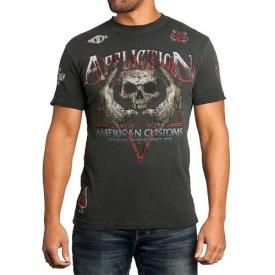 T-Shirt Homme AFFLICTION - Wolfsbane