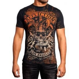 T-Shirt Mec All Over AFFLICTION - Voodoo Man