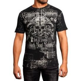 T-Shirt Mec All Over AFFLICTION - Ramblers Reversible