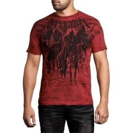 T-Shirt Mec AFFLICTION - Black Night