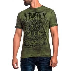 T-Shirt Mec AFFLICTION - Cast Into