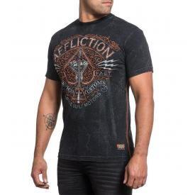 T-Shirt Homme AFFLICTION - V Spade