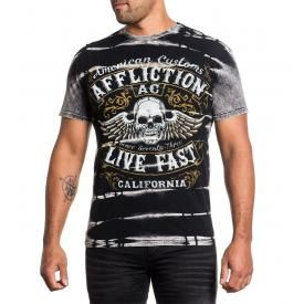 T-Shirt Homme AFFLICTION - Inquisition