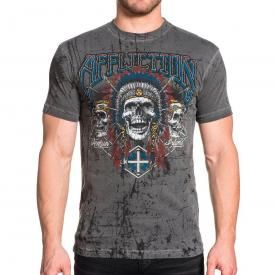 T-Shirt Homme AFFLICTION - Wild Jackal