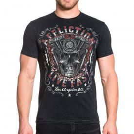 T-Shirt Homme AFFLICTION - Native Horsepower