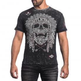 T-Shirt Homme Réversible AFFLICTION - Native Tongue