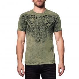 T-Shirt Homme Réversible AFFLICTION - Evil Eyes