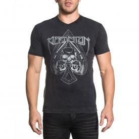 T-Shirt Homme AFFLICTION - Stitch