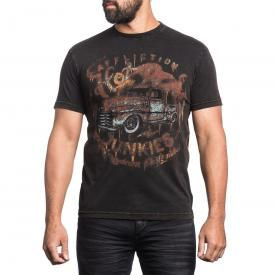 T-Shirt Homme AFFLICTION - Junkies