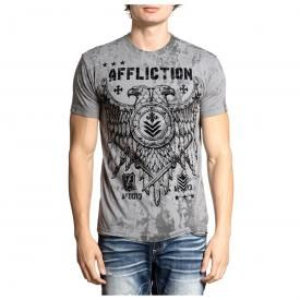 T-Shirt Homme AFFLICTION - Riveted Eagle