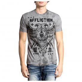 T-Shirt Homme AFFLICTION - Riveted Eagle