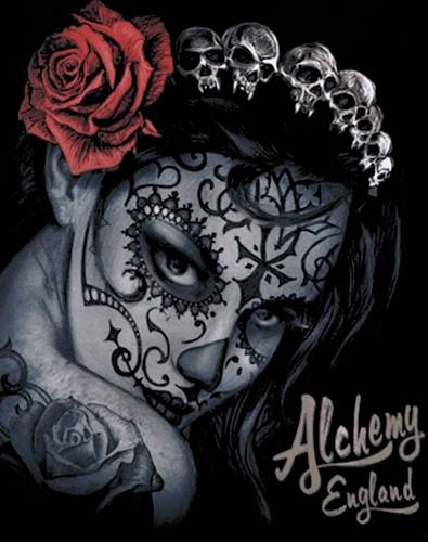 tee shirt femme alchemy widow 39 s weed t shirts rock a gogo. Black Bedroom Furniture Sets. Home Design Ideas