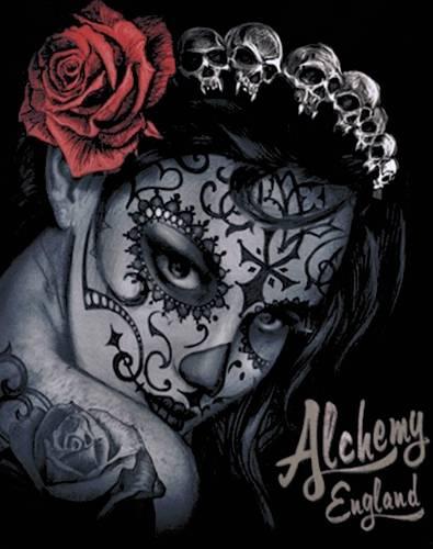 Tee Shirt Femme Alchemy Widow S Weed Rock A Gogo