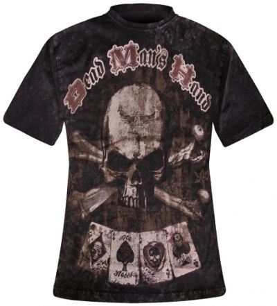 Image de T-Shirt Mec ALCHEMY GOTHIC - Dead Man's Hand