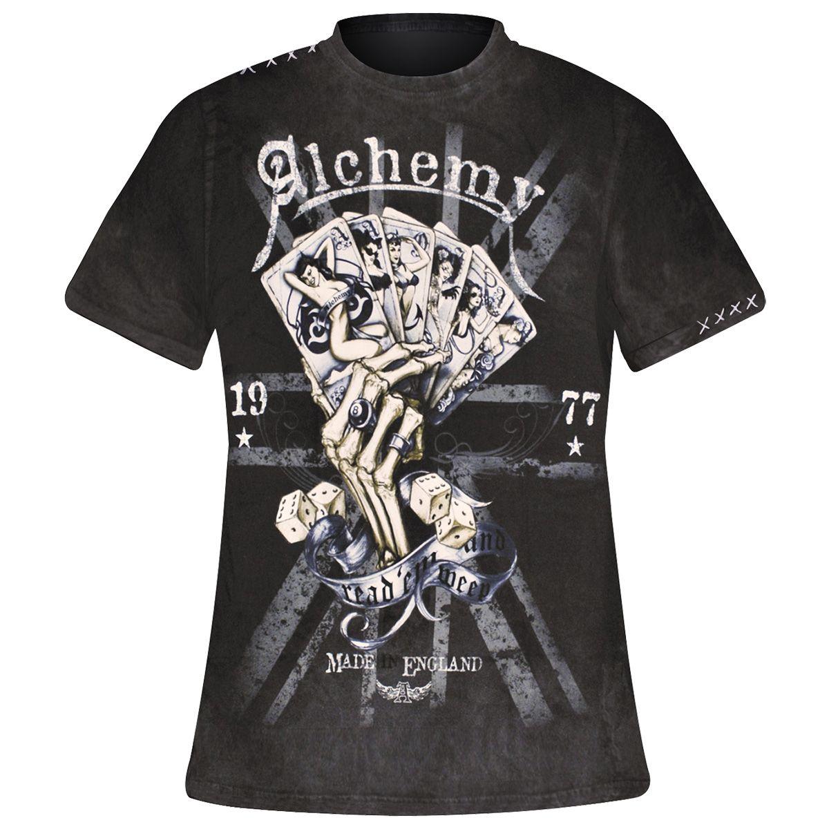 Image de T-Shirt Mec ALCHEMY - Read'Em Weep