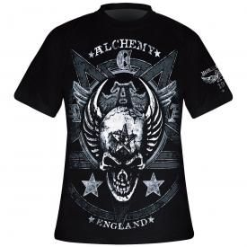T-Shirt Mec ALCHEMY GOTHIC - Satan's Shield