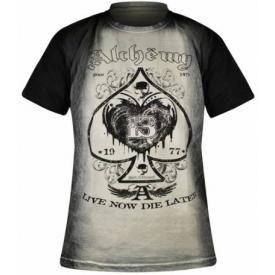 T-Shirt Mec ALCHEMY GOTHIC - Skull Label