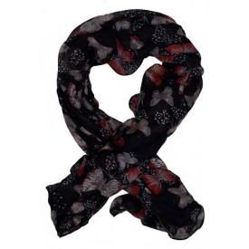 Foulard PAPILLON - Butterflies Red