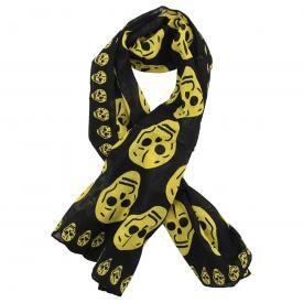 Foulard TÊTE DE MORT - Yellow Skulls