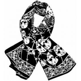 Foulard TÊTE DE MORT - Spider Skulls
