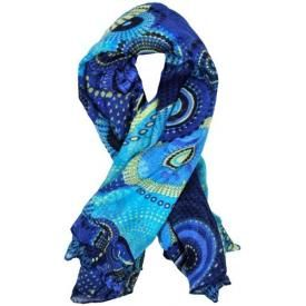 Foulard DIVERS - Color Circles Blue