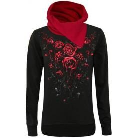 Sweat Femme Spiral DARK WEAR - Blood Rose
