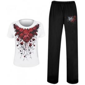 Ensemble Pyjama Femme Spiral DARK WEAR - Blood Roses