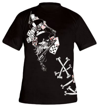 Image de T-Shirt TATTOO WEAR - Guns And Bones
