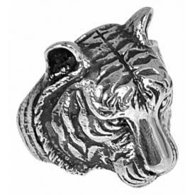 Bague ACIER - Tiger Head