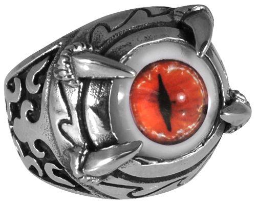 Image de Bague ACIER - Eye Of Sauron