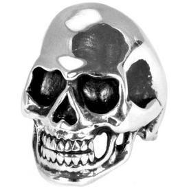 Bague ACIER - Skull Chrome