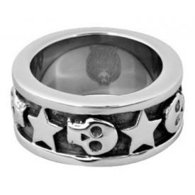 Bague WILDCAT - Skulls And Stars