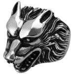 Bague ANIMAL - Wolf Head