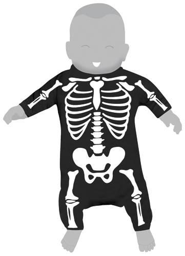 Image de Body Bébé SIX BUNNIES - Bones