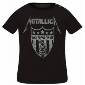 T-Shirt Bébé METALLICA - Don't Treat On Me