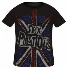 T-Shirt Bébé SEX PISTOLS - UK Flag