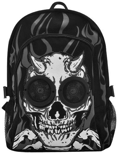 sac dos enceintes jawbreaker skull speakers sacs. Black Bedroom Furniture Sets. Home Design Ideas