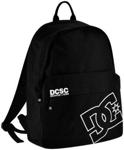 sac dos dc shoes borne black sacs rock a gogo. Black Bedroom Furniture Sets. Home Design Ideas