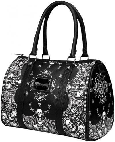 sac main loungefly bandana skulls sacs rock a gogo. Black Bedroom Furniture Sets. Home Design Ideas